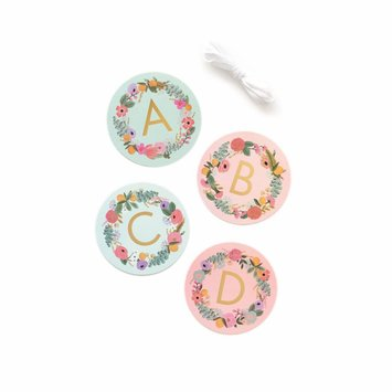 Rifle Paper Co - RP Garden Party Letter Garland