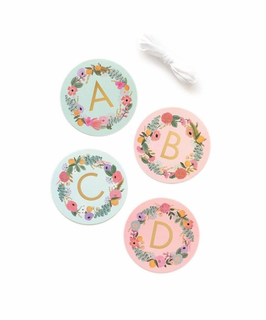 Rifle Paper Co. Garden Party Letter Garland
