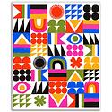 Lisa Congdon Lisa Congdon Brightside Grid Print, 11x14