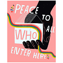 Lisa Congdon Lisa Congdon Peace to All Print, 11x14