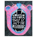 Lisa Congdon LIC PR - Women of the World Print, 11x14
