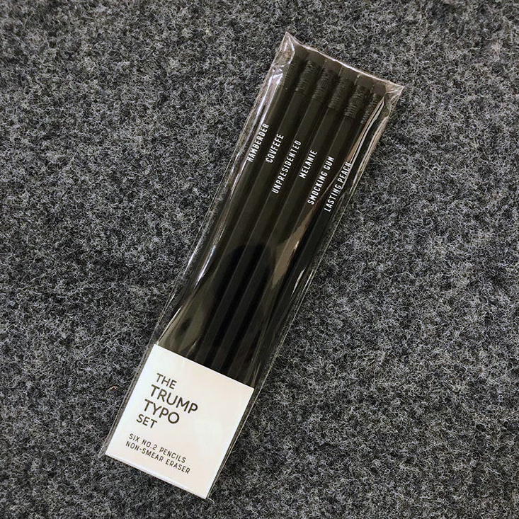 Sapling Press Trump Typo Pencil Set