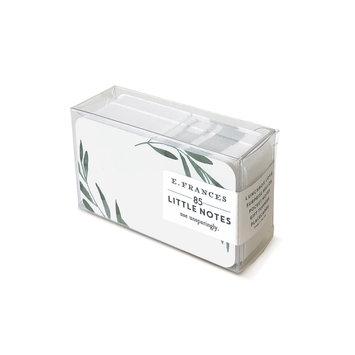 E. Frances Paper Studio - EF EF ECBS - Olive Branch Little Notes, Set of 85