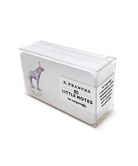 E. Frances Paper Studio EF ECMI - Unicorn Little Notes, set of 85