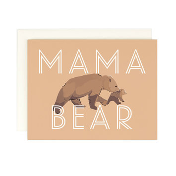 Amy Heitman Illustration Mama Bear Greeting Card