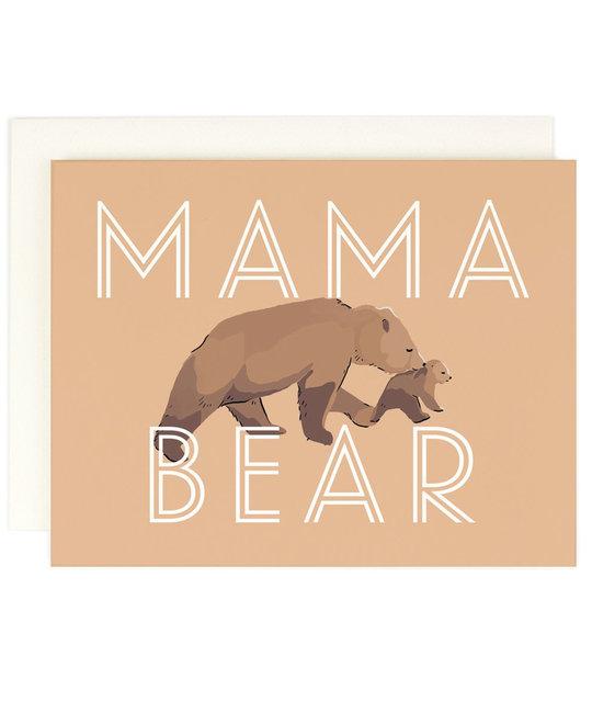 Amy Heitman Illustration Mama Bear Greeting Card