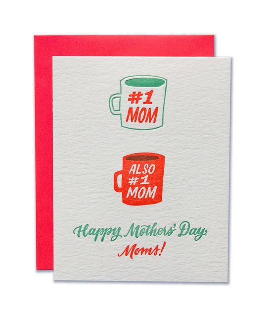 Ladyfingers Letterpress - LF Number 1 Moms Greeting Card