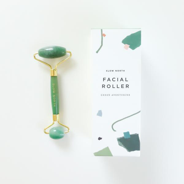 Slow North Green Aventurine Face Roller