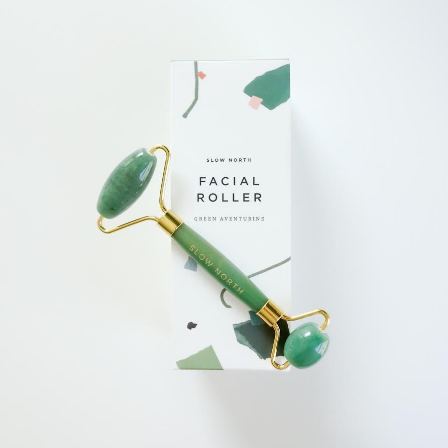 Slow North Green Aventurine Face Roller