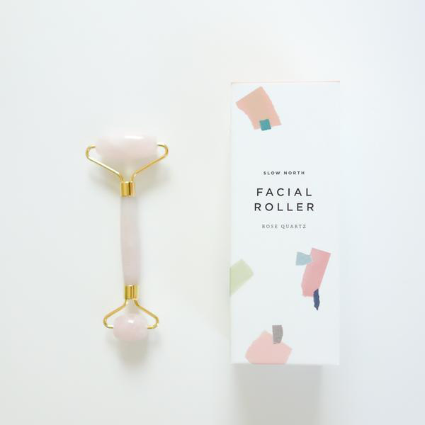 Slow North Rose Quartz Face Roller