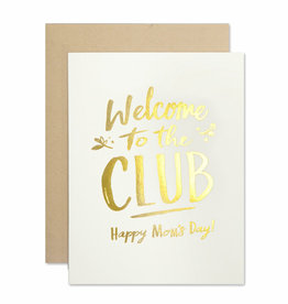 The Social Type Mom Club Greeting Card