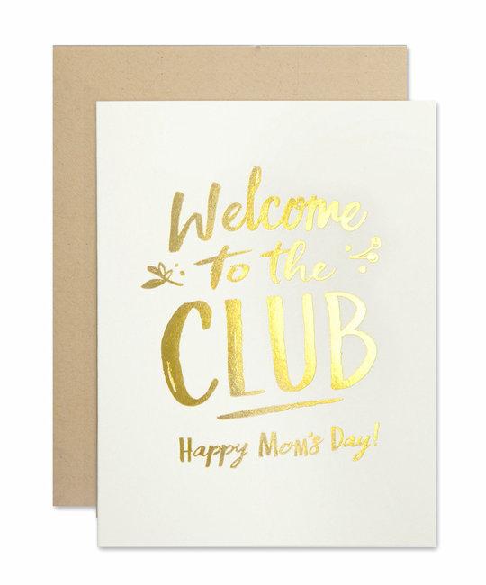 The Social Type Mom Club Greeting Card