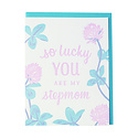 Smudge Ink - SI Clover Stepmom Greeting Card