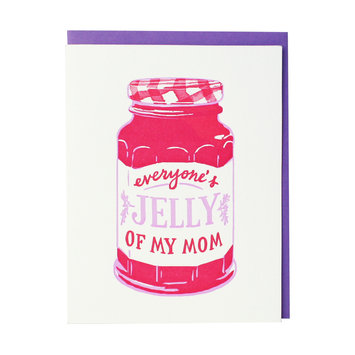 Smudge Ink - SI Jelly Mother's Day Greeting Card