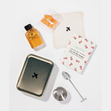 w and p design Sugarfina Rosé All Day Carry On Cocktail Kit