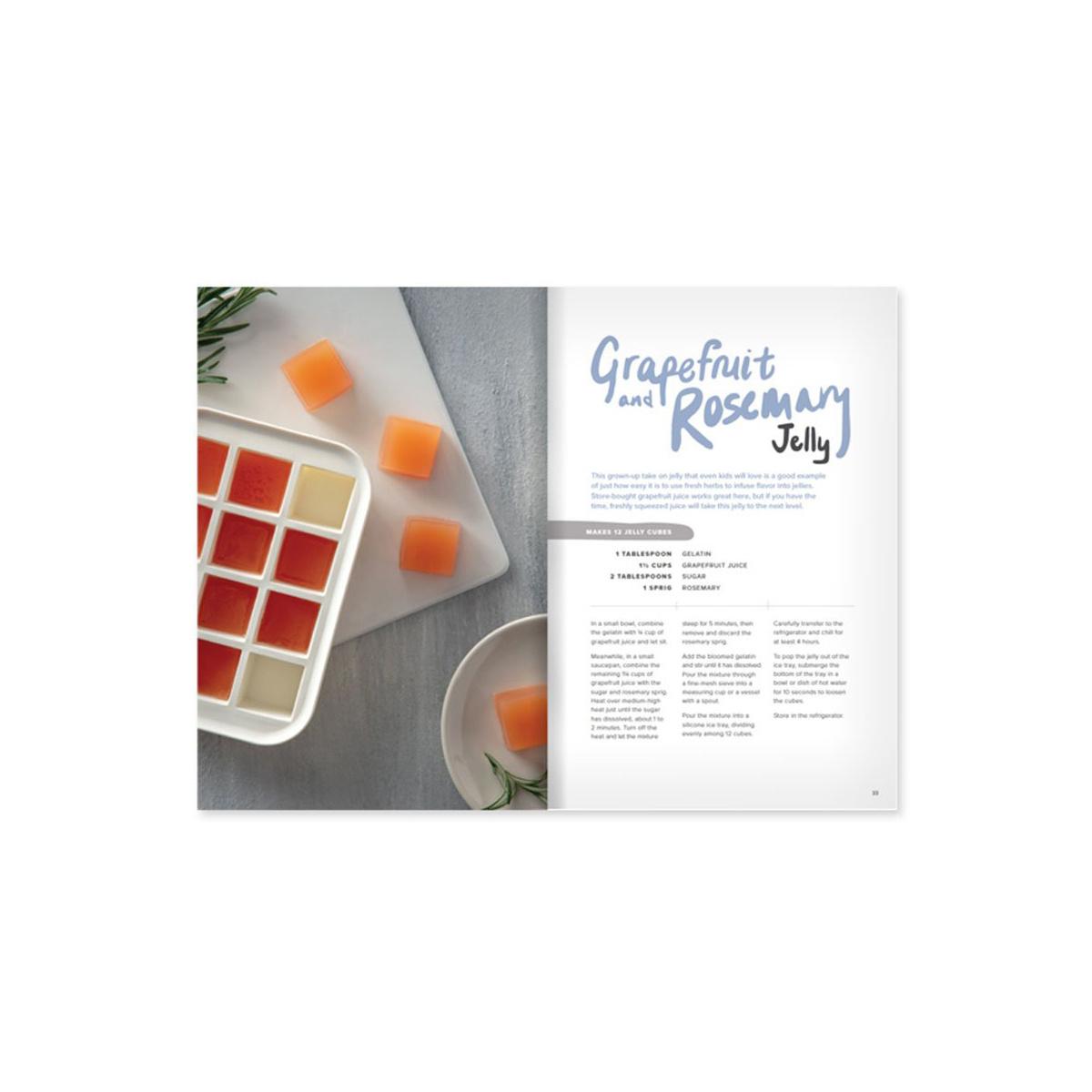 w and p design Ice Tray Treats Cookbook