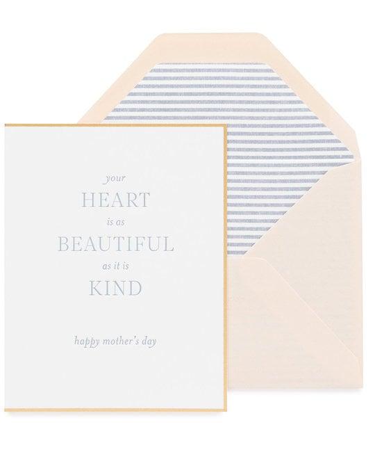Sugar Paper - SUG Beautiful and Kind Heart Mom Card