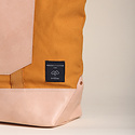 IMMODEST COTTON x Fleabags Immodest Cotton - Mustard Seed East West Bucket Tote