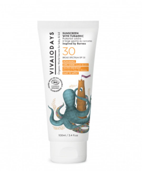 Vivaiodays Vivaiodays Turmeric Broad Spectrum Sunscreen