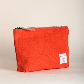 IMMODEST COTTON x Fleabags Persimmon Mini Sardine Pouch