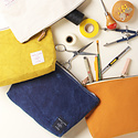 IMMODEST COTTON x Fleabags Mustard Seed Mini Sardine Pouch
