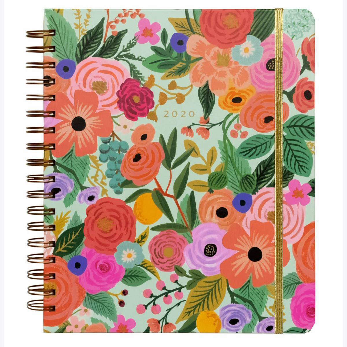 Rifle Paper Co. 2020 Garden Party Spiral 17 Month Agenda