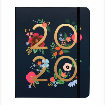 Rifle Paper Co. 2020 Wild Rose Covered Spiral 17 Month Agenda
