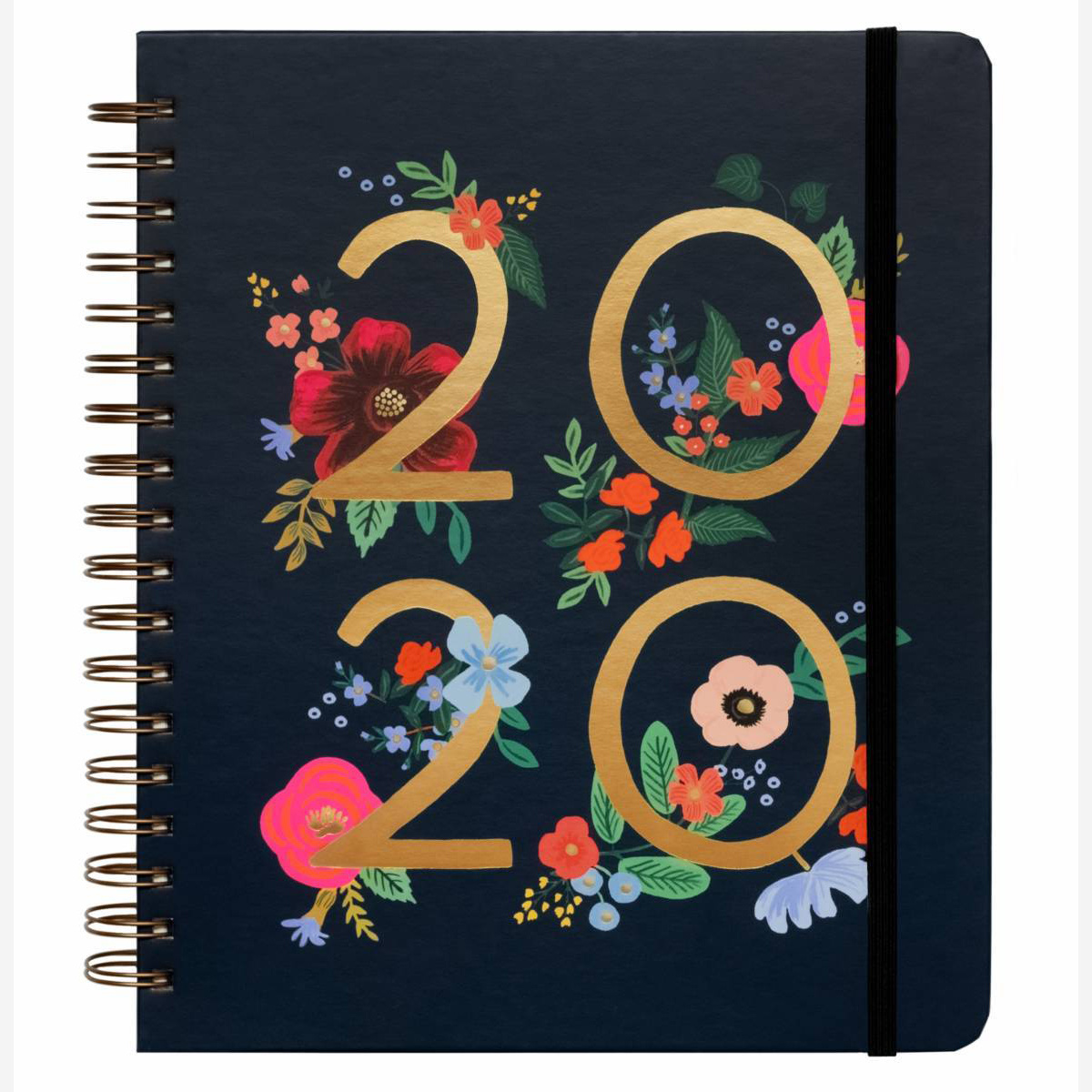 Rifle Paper Co. 2020 Wild Rose Spiral 17 Month Agenda