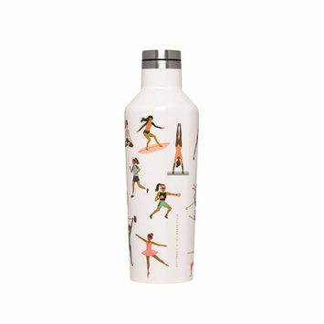 Corkcicle - CO Corkcicle x Rifle Paper Co.  Sports Girls Canteen