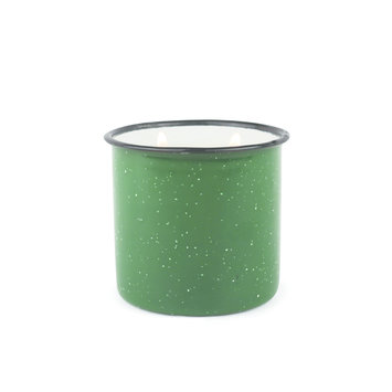 Paddywax Evergreen & Embers Alpine Enamelware Candle