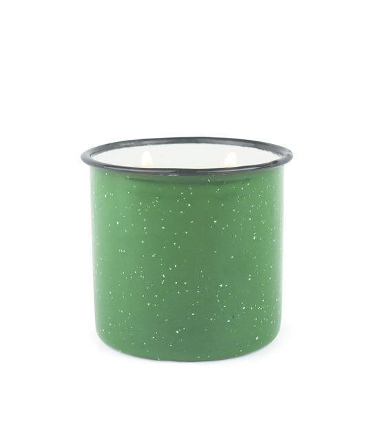Paddywax Evergreen & Embers Alpine Enamelware Candle