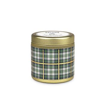 Paddywax Paddywax  Balsam & Fir Tartan Candle