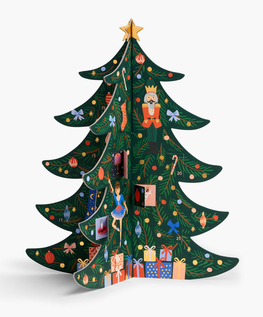 Rifle Paper Co. Rifle Paper Christmas Tree Advent Calendar