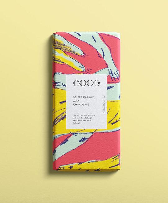 Coco Chocolatier Coco Chocolatier - Salted Caramel Chocolate Bar