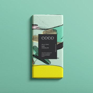 Coco Chocolatier - COCO Coco Chocolatier - Gin & Tonic Chocolate Bar