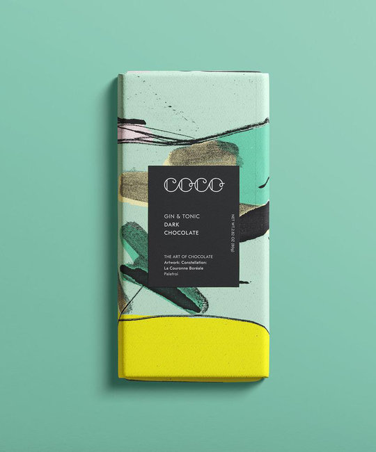 Coco Chocolatier Coco Chocolatier - Gin & Tonic Chocolate Bar