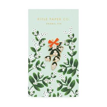 Rifle Paper Co. Rifle Paper Co Mistletoe Enamel Pin