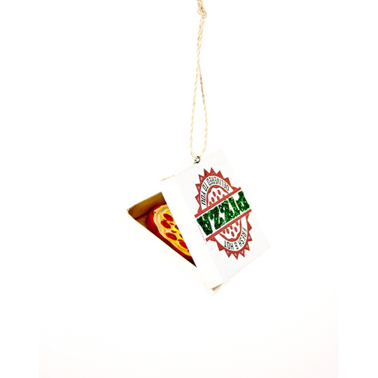 Cody Foster - COF Pizza Delivery Ornament
