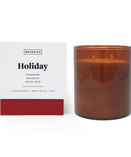 Botanica Holiday Candle 14.5 oz