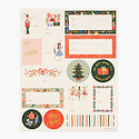 Rifle Paper Co - RP Rifle Paper Co Pack of 3 Nutcracker Stickers & Labels