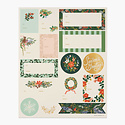Rifle Paper Co - RP Rifle Paper Co Pack of 3 Winter Floral Stickers & Labels