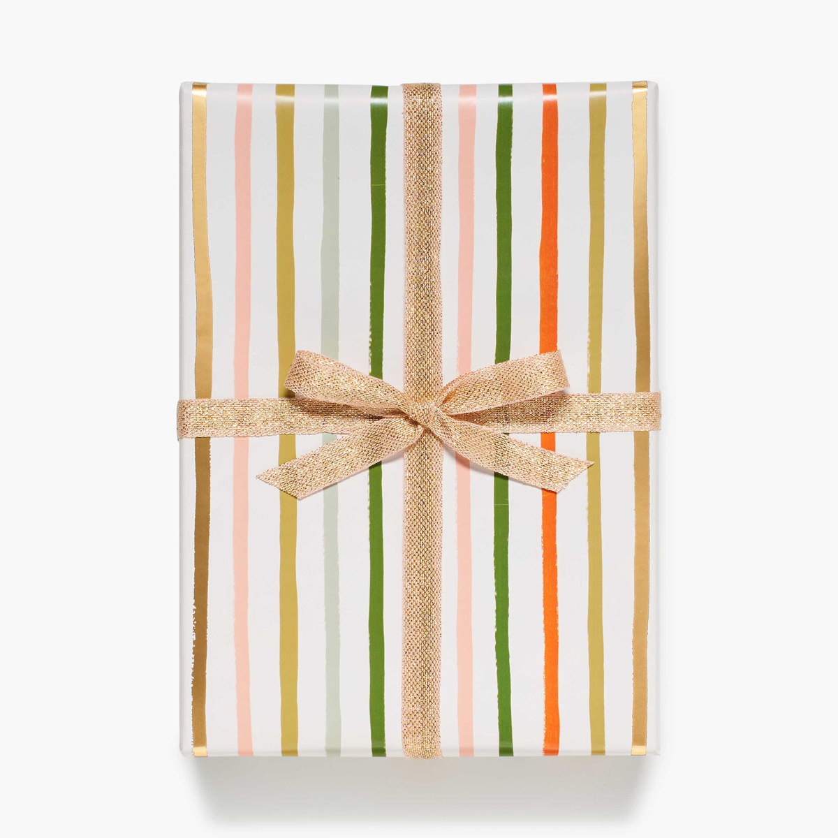Rifle Paper Co. Rifle Paper Co Festive Stripe Continuous Wrapping Roll