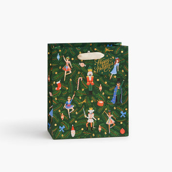 Rifle Paper Co - RP Rifle Paper Co Nutcracker Medium Gift Bag