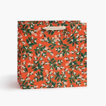 Rifle Paper Co. Rifle Paper Co Mistletoe Large Gift Bag