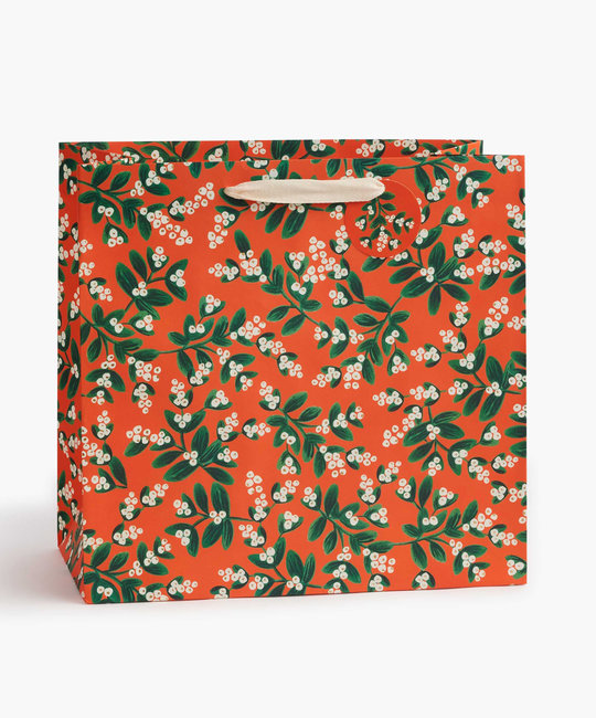 Rifle Paper Co. Rifle Paper Co Mistletoe Large Gift Bag