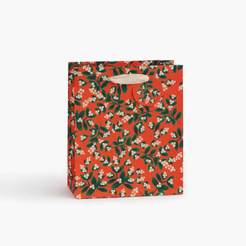 Rifle Paper Co - RP Rifle Paper Co  Mistletoe Medium Gift Bag