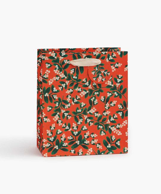 Rifle Paper Co. Rifle Paper Co  Mistletoe Medium Gift Bag