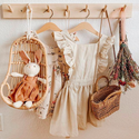 Poppie Rattan Doll Swing