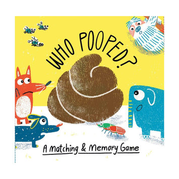 Chronicle Books - CB Who Pooped? A Matching & Memory Game