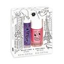 Nailmatic Lovely City Lip Gloss & Nail Polish Gift Set